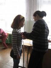 Антропометрия учащихся Гожской СШ
