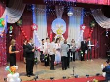 Вручение диплома министром образования